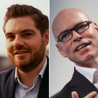 Bas van Hoeve, Managing Director & Michel Lieffering, Senior Business Innovator